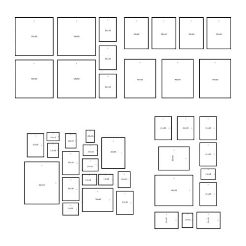 6 semplici modi per appendere le foto alle pareti di casa for Cornici su misura ikea